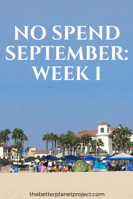 week 1 no spend September