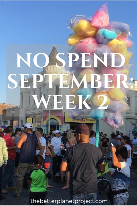 week 2 no spend September