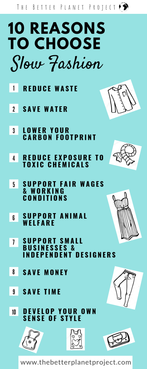 The top 10 reasons to choose slow fashion