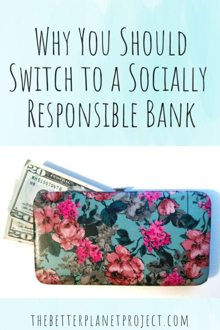 why switch to a socially responsible bank