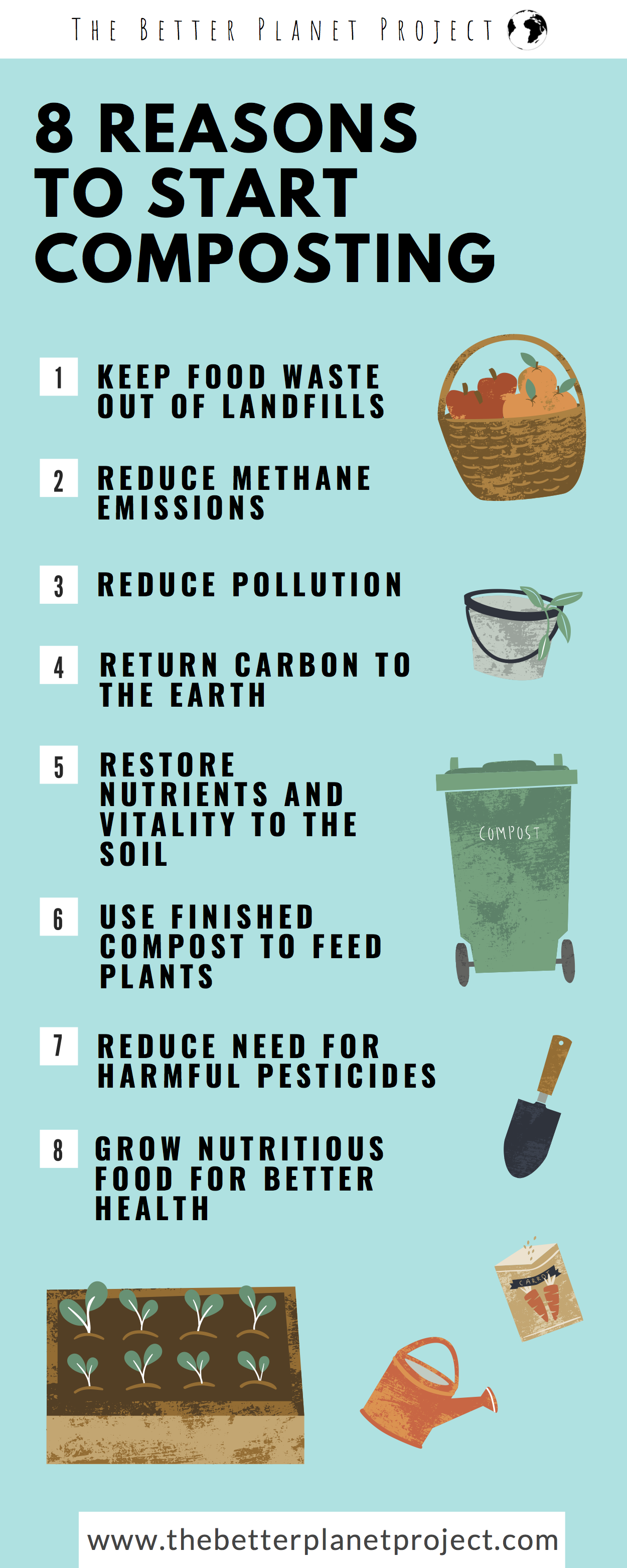 8 reasons to start composting